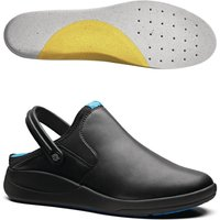 Image of WearerTech Refresh Clog Black with Soft Insoles Size 41