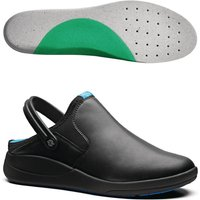 Image of WearerTech Refresh Clog Black with Medium Insoles Size 46
