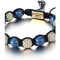 Shimla Jewellery Blue and Gold Bracelet Small JEWEL SH-047S