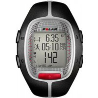 Mens Polar Fitness RS300X Heart Rate Monitor with S1 Footpod Alarm Chronograph Watch 90036623